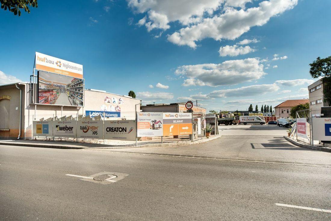 Huf-Bau Téglacentrum - Pécs - 7622 - Bacsó Béla utca 4. - Építőanyag, festék, szerszám, csavarok, tégla, betonvas, szigetelés