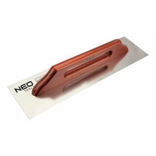 Glettvas 130x500mm sima inox svájci glettelő Neo (50-032)