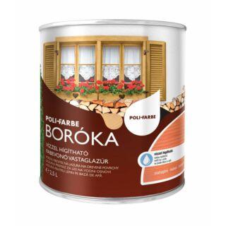 POLI-FARBE Boróka fabevonó lazúr (mahagóni) 0,75l