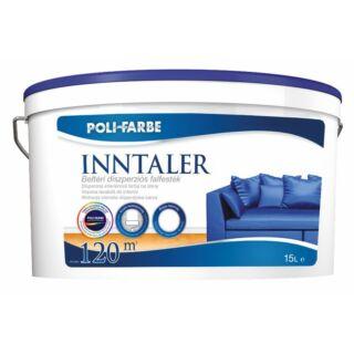 POLI-FARBE Inntaler beltéri diszperziós falfesték fehér 15l