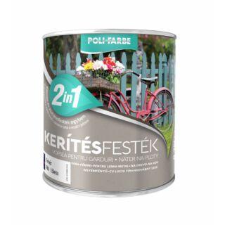 POLI-FARBE Kerítésfesték kávé 2,5l
