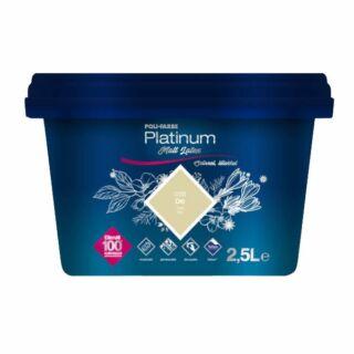 POLI-FARBE Platinum Matt Latex beltéri falfesték dió D30 2,5l