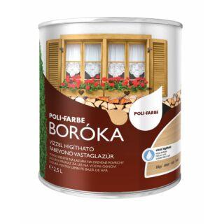 POLI-FARBE Boróka fabevonó lazúr (gránit) 2,5l