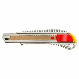 Pvc kés 18 mm fémházas tördelhető pengés Topex (17B128)