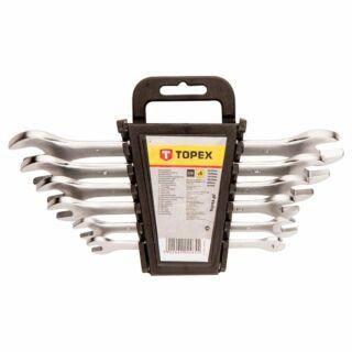 Villáskulcs készlet 6-17 mm 6 részes crv Topex (35D655)