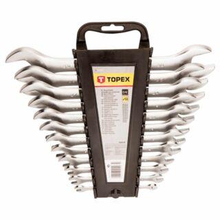 Villáskulcs készlet 6-32 mm 12 részes crv Topex (35D657)