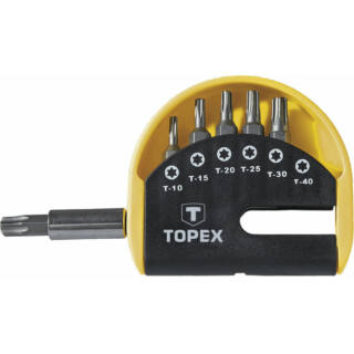 Torx bit készlet 6 részes Topex (39D351)