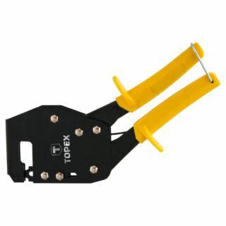 Gipszkarton profil szerelő szerszám stancoló rövid Topex (43E101)