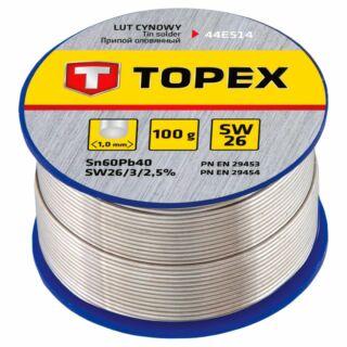 Forrasztóón 1,0 mm 100gr Topex (44E514)