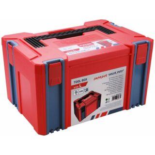 Szerszámos láda műanyag 443x310x248mm ABS sorolható Extol Premium (8856072)