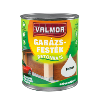 VALMOR Garázsfesték fekete Ral 9005 0,75l