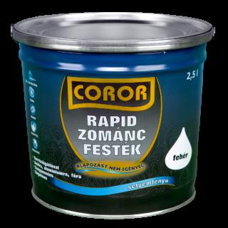 COROR Rapid Zománc antracit Ral 7016 2,5l