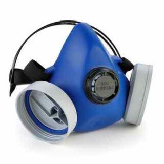Légzésvédő félálarc cserélhető ikerszűrős Eurmax Due (GA22102)