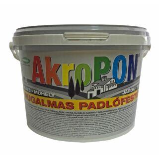KEMIKÁL AkroPon flexibilis padlófesték sötét barna 1l