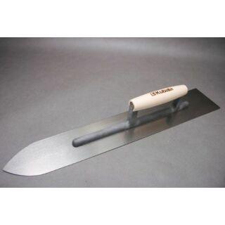 Aljzatsimító  90x600x1,0mm acél, fa nyél Kubala (KUB0422)