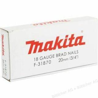 Tűzőgéphez szeg 40mm fej nélküli 5000db/cs Makita (F-31931)