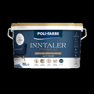 POLI-FARBE Inntaler Premium LATEX beltéri diszp. falfesték 15l (1020101029)