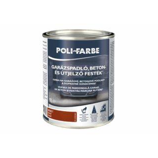 POLI-FARBE Garázspadló, beton- és útjelző festék Opál 1l