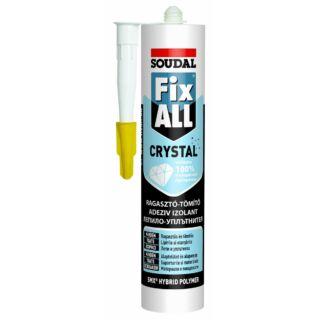 Szerelőragasztó 290ml Fix-All Classic fehér polimer bázisú Soudal (111715)