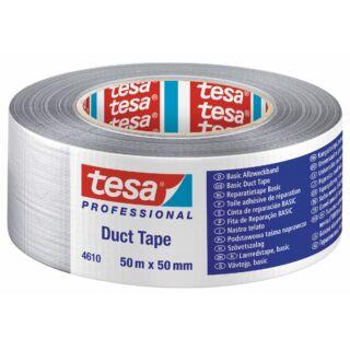 TESA Szövetszalag 50mmx25m Basic ezüstszürke Duct tape (04610-00001-00)