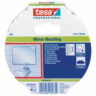 TESA Kétoldali ragasztó szalag 19mmx5fm tükörragasztó (04952-00004-05)