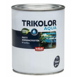 TRILAK Trikolor Aquamatt Zománcfesték Fehér 1l (290312)