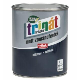 TRILAK Trinát Matt Zománcfesték 200 Szürke 1l