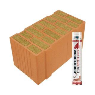 Wienerberger - Porotherm - Falazóelem, tégla, áthidaló, födém, béléstest