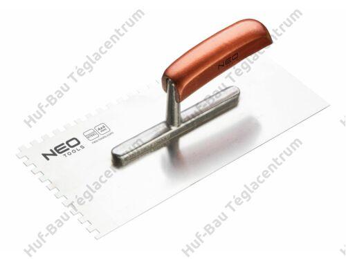 Glettvas 130x280mm E 4 fogazott inox fanyelű Neo (50-022)