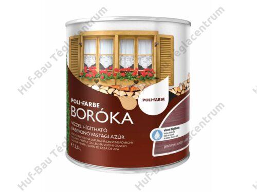POLI-FARBE Boróka fabevonó lazúr (gesztenye) 2,5l