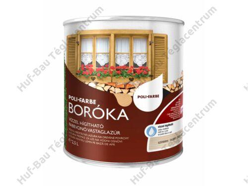 POLI-FARBE Boróka fabevonó lazúr (színtelen) 2,5l