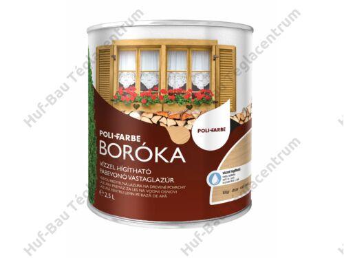 POLI-FARBE Boróka fabevonó lazúr (tölgy) 2,5l