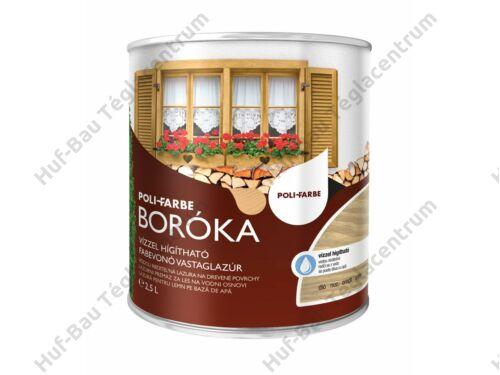 POLI-FARBE Boróka fabevonó lazúr (dió) 2,5l