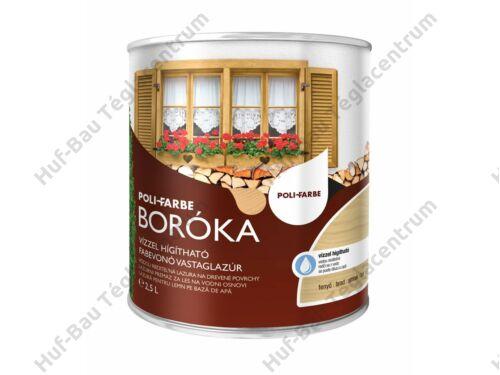 POLI-FARBE Boróka fabevonó lazúr (fenyő) 2,5l