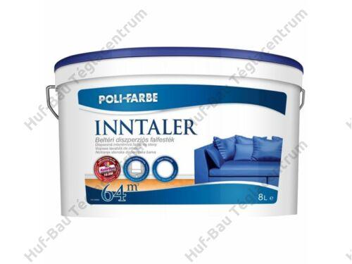 POLI-FARBE Inntaler beltéridiszperziós falfesték fehér 8l