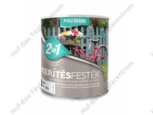POLI-FARBE Kerítésfesték barna 0,75l