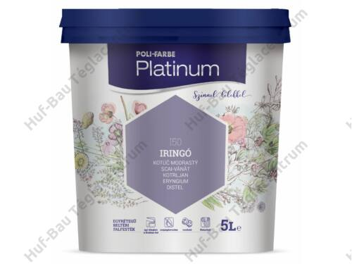 POLI-FARBE Platinum beltéri falfesték Pipacs 2,5l