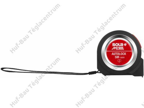 Mérőszalag  3mx16mm fordított működésű Sola (Autolock3)