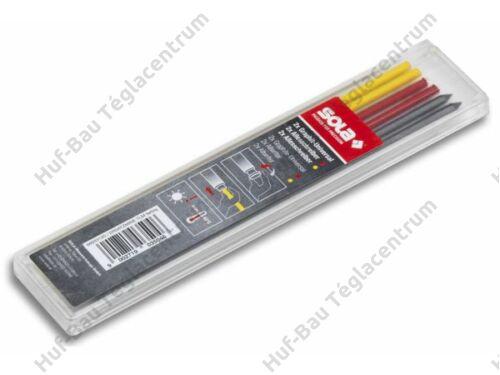 Jelölőceruzához szines póthegy klt TLM EM F 6db/cs Sola (66033120)