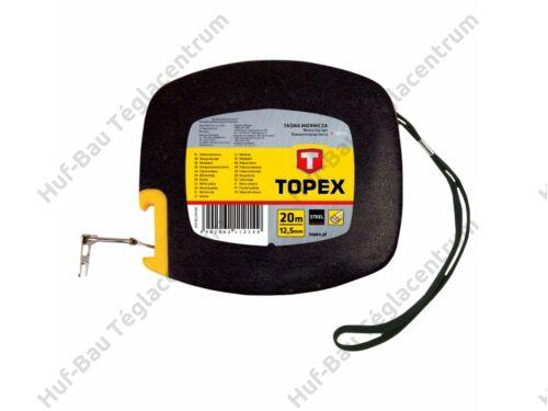 Mérőszalag 20 M/12,5 mm Topex (28C412)