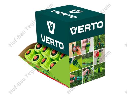 """Vízmegállító tömlő gyorscsatlakozó 1/2"""" Verto (15G721-30)"""