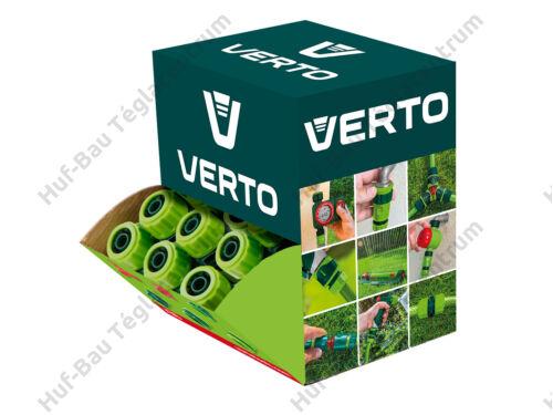 """Tömlőoldat csatlakozó 1/2"""" Verto (15G742-30)"""