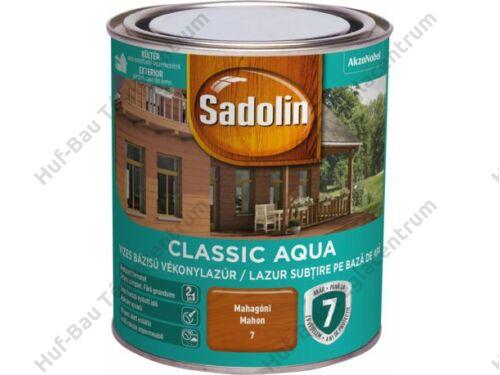 AKZO Sadolin Classic Aqua impregnálólazúr mahagóni 2.5l