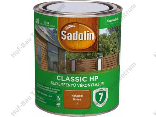 AKZO Sadolin Classic HP vékonylazúr világostölgy 2,5l