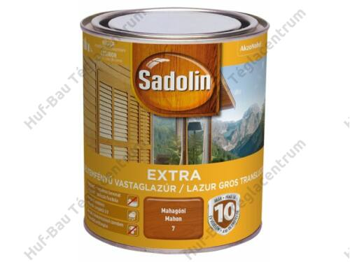 AKZO Sadolin Extra vastaglazúr mahagóni 0,75l