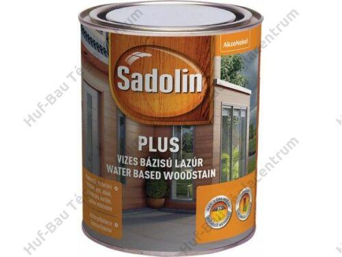 AKZO Sadolin Plus selyemfényű, kül- és beltéri, vizes bázisú vastaglazúr teak 0,75l