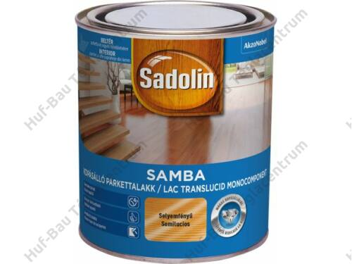 AKZO Sadolin Samba selyemfényű oldószeres lakk 0,75l