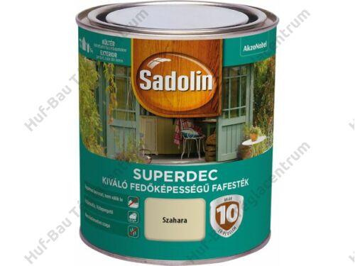 AKZO Sadolin Superdec vizes bázisú, selyemfényű fafesték fehér 2,5l