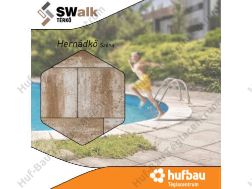 SW Hernádkő széna 6cm térkő