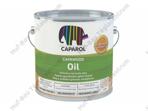 CAPAROL CapaWood Oil Teak faimpregnáló olaj 2,5L
